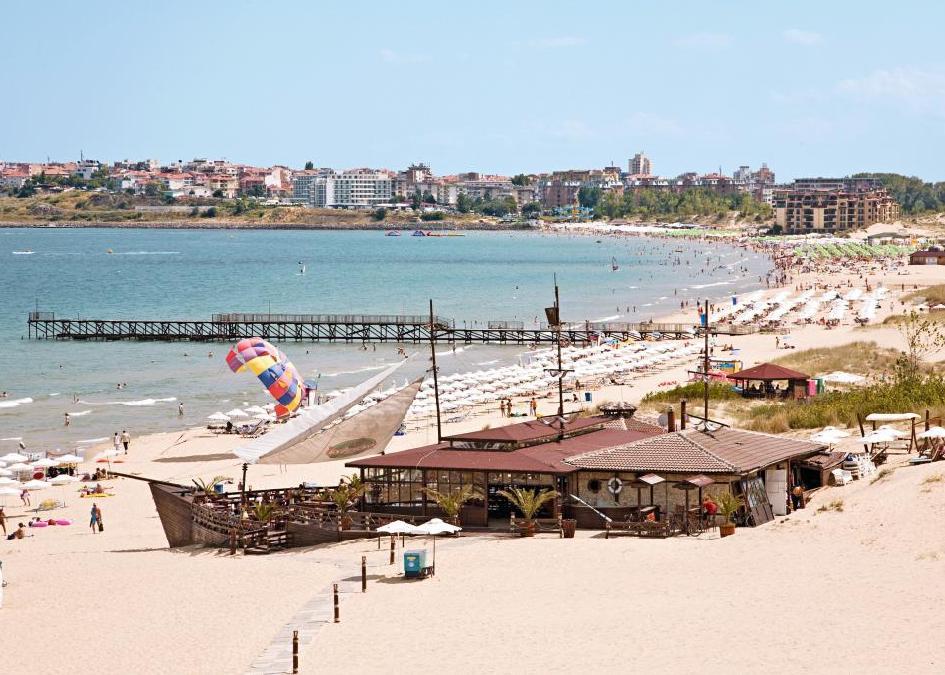 Bulg�ria, Napospart: Hotel Burgas Beach 4*, all inclusive