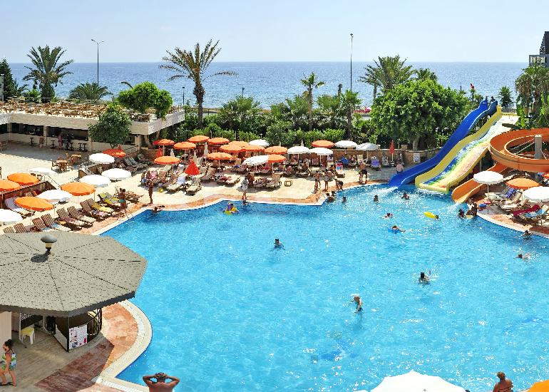 T�r�korsz�g, Alanya: Happy Elegant Hotel 5*, all inclusive