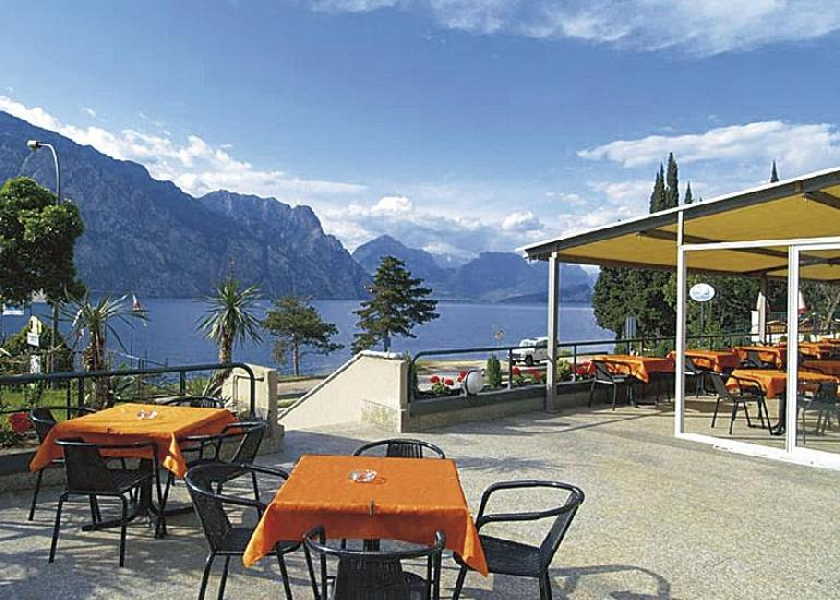 Olaszorsz�g, Malcesine: Hotel Sole 3*, all inclusive