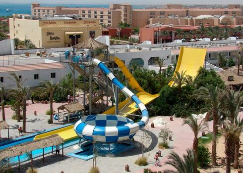 Egyiptom, Hurghada: Sindbad Aqua Park Resort 4*, all inclusive