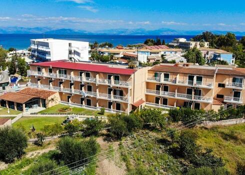Korfu, Moraitika: Sea Bird Hotel 3*, f�lpanzi�, rep�l�vel