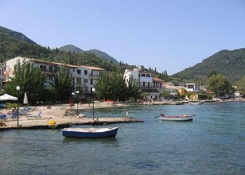 Korfu, Benices: Voula Apartmanh�z 2*, 2 f�s apartman, aut�busszal