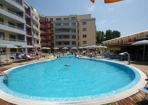 Bulg�ria, Napospart: Central Plaza Apartmanh�z 4*, 2 f�s st�di�