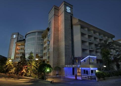 T�r�korsz�g, Alanya: Saphir Hotel 4*, all inclusive