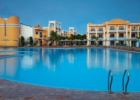 Egyiptom, Hurghada: Lillyland Beach Club 4*, all inclusive