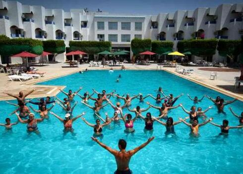 Tun�zia, Nabeul: Pyramides Hotel 3*