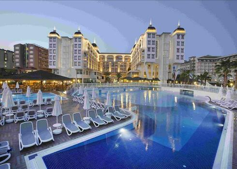 T�r�korsz�g, Alanya: Kirman Hotels Club Hotel Sidera, ultra all inclusive
