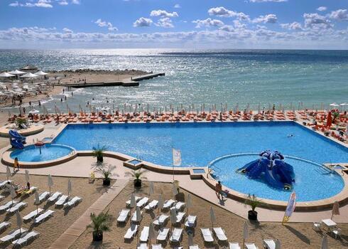 Bulg�ria, V�rna: Hotel Dolphin 4*, all inclusive