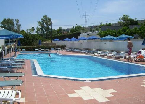 Kr�ta, Kokkini Hani: Dimitra Hotel 2*