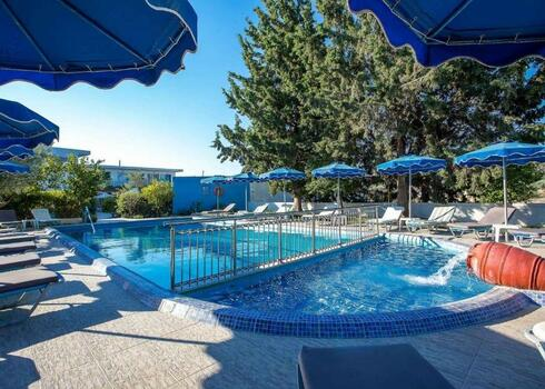 Rodosz, Kolymbia: Loutanis Hotel 3*, all inclusive