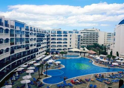 Bulg�ria, Burgas: Hotel Chaika/arkadia 4*, all inclusive
