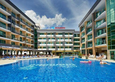 Bulg�ria, Napospart: Hotel Diamond 4*, all inclusive