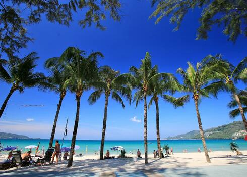 Thaif�ld, Phuket: Blue Ocean Resort 3*