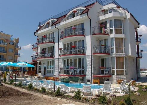 Bulg�ria, Neszeb�r: Hotel Delfin 3*, aut�busszal
