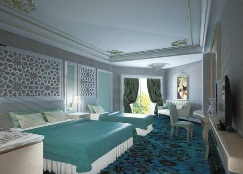 Vadonat�j luxushotel, bevezet� akci�ban! T�r�korsz�g, Side: Royal Taj Mahal Hotel 5*, ultra all inclusive