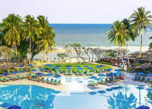Thaif�ld, Cha Am, The Regent Resort Cha Am 4*, reggelivel