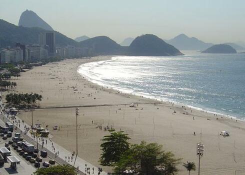 TOP AKCI�! Rio de Janeiro: Augusto`s Copanabana Hotel 4*