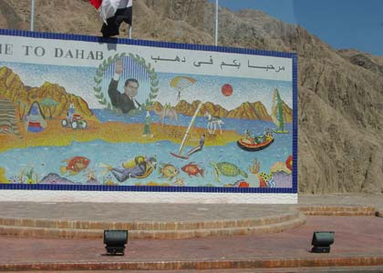 Egyiptom, Dahab: Happy Life Village Hotel 3*, f�lpanzi�