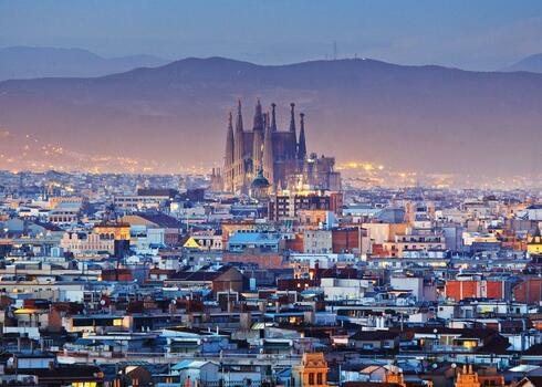Barcelona v�rosl�togat�s