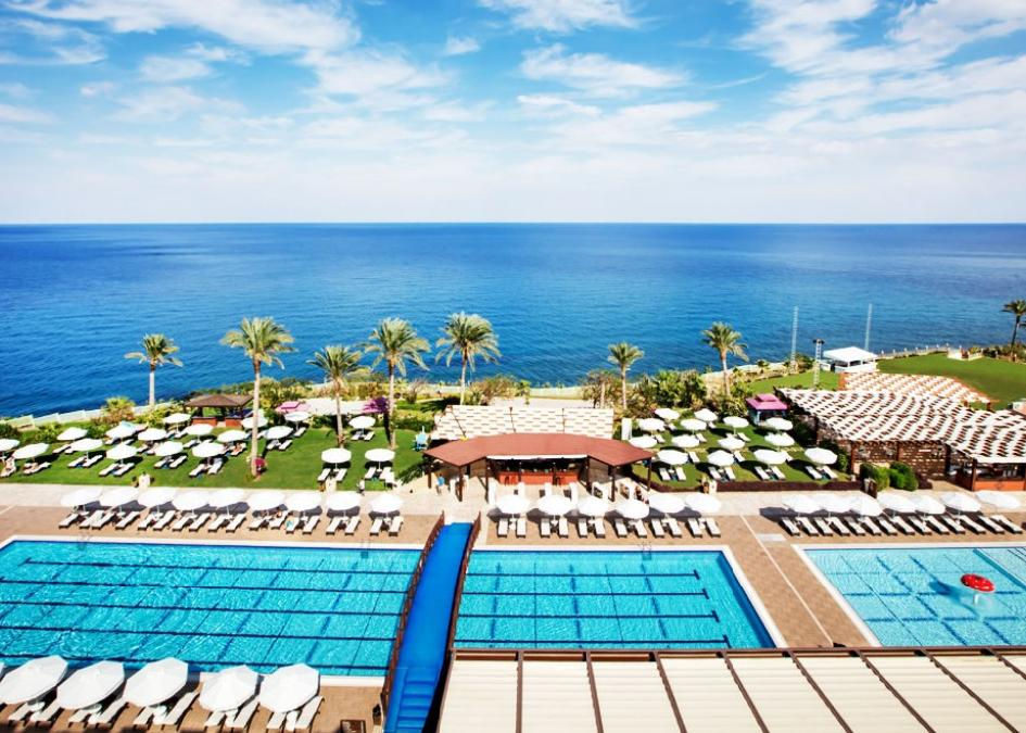 Ciprus, Kyrenia: Merit Park Hotel & Casino 5*, all inclusive