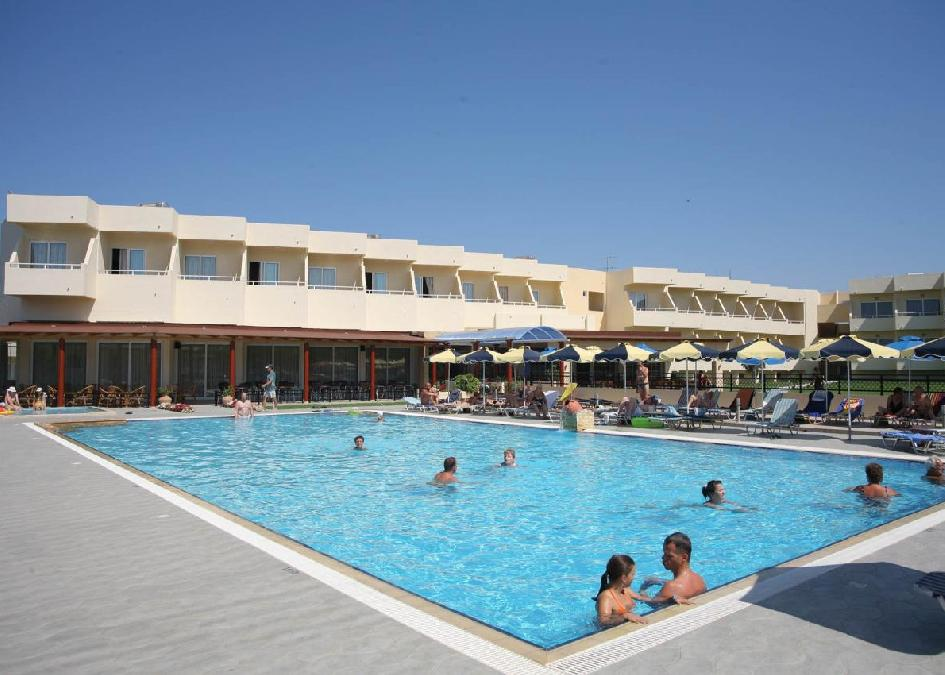 Rodosz, Kolymbia: Relax Hotel 3*, all inclusive