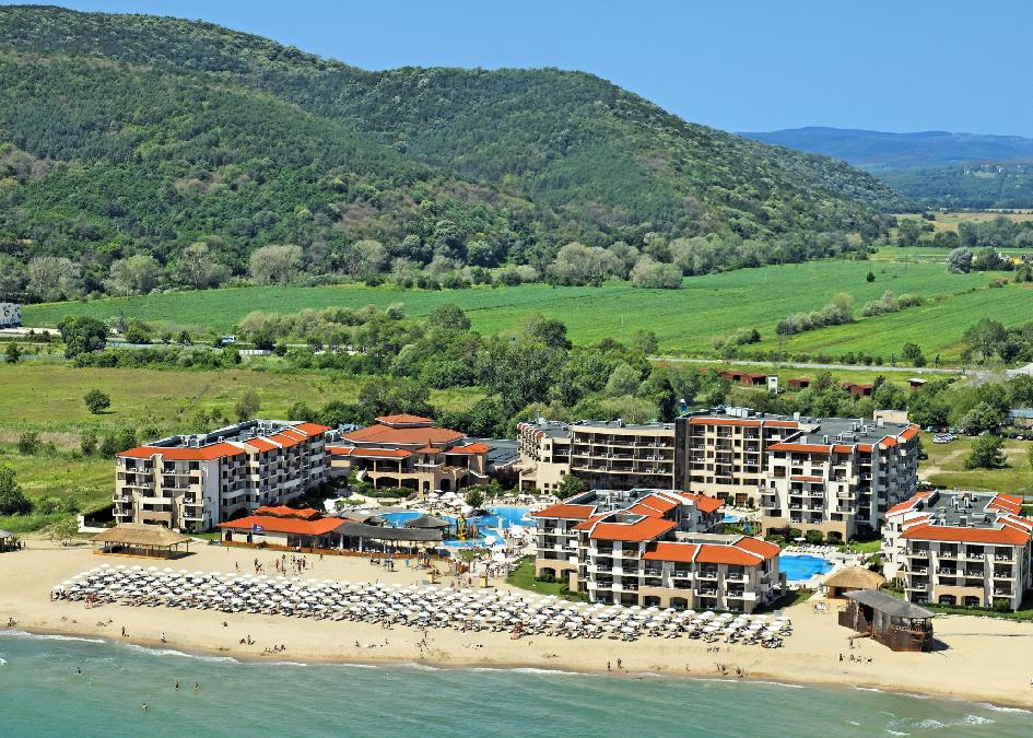 Bulgária, Obzor: Club Hotel Miramar 4*, all inclusive