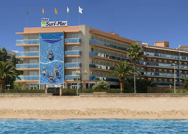 Costa Brava, Lloret de Mar: Hotel Surf-Mar 3*, all inclusive