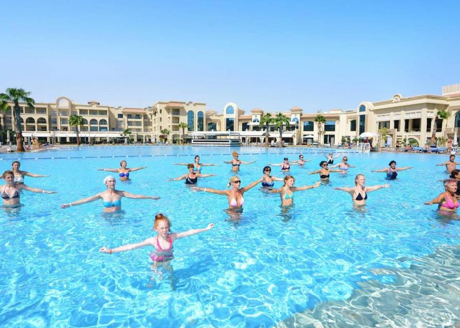 Egyiptom, Hurghada: Pickalbatros White Beach Resort 5*, all inclusive