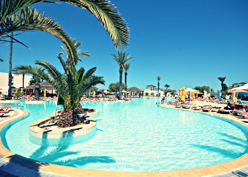 Tunézia, Sousse: Thalassa Sousse Resort & Aquapark` 4*, all inclusive