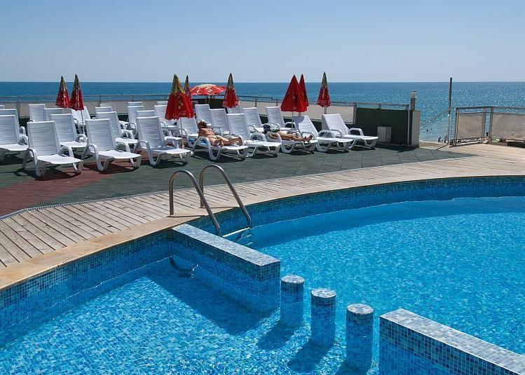 Bulgária, Obzor: Hotel Paraiso Beach 3*, all inclusive