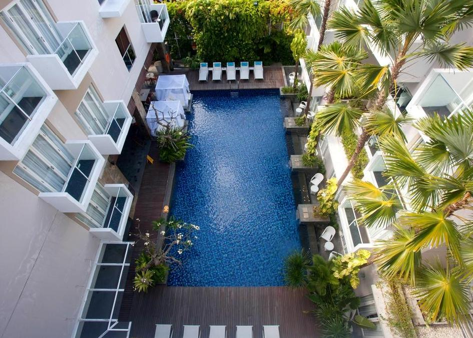 Indonézia, Kuta: Hotel Grand Ixora Resort 4*