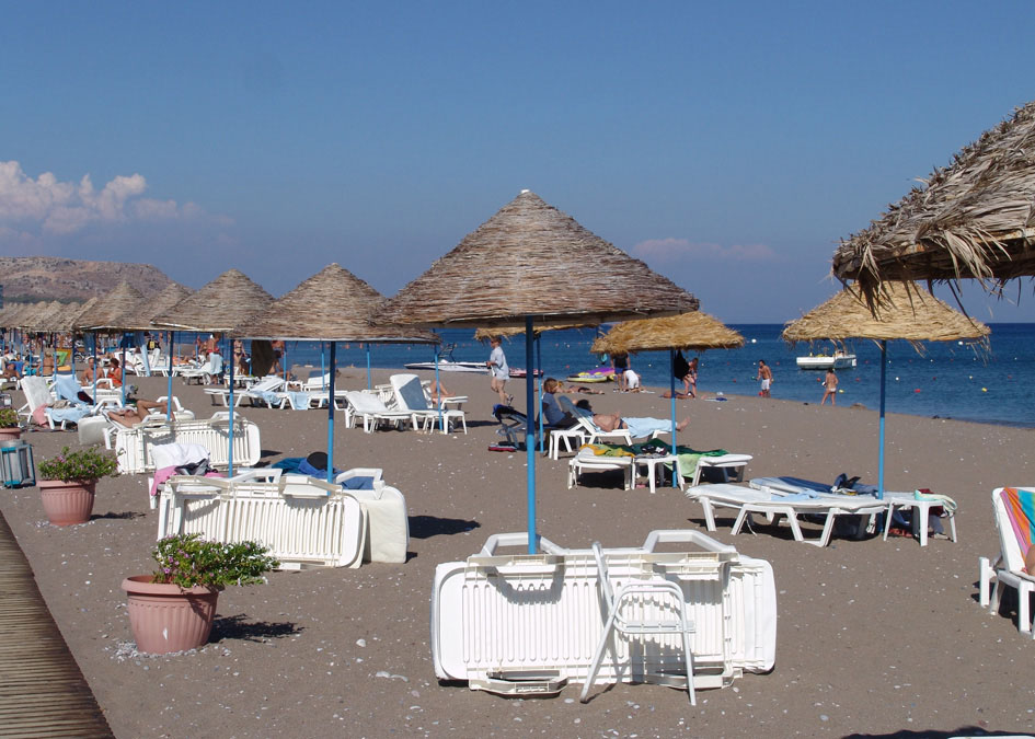 Rodosz, Faliraki: Dessole Olympos Beach Resort 4*, all inclusive
