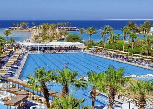 Egyiptom, Hurghada: Hotel Arabia Azur Beach 4*, all inclusive