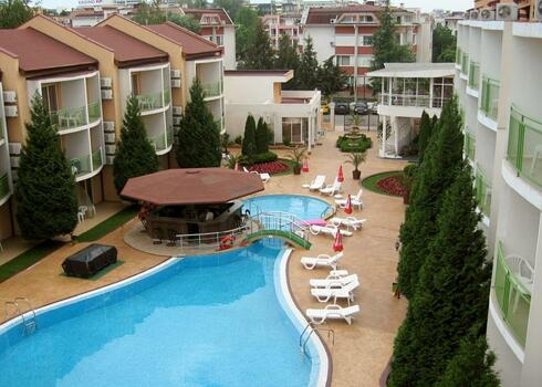 Bulgária, Napospart: Hotel Sun City 3*, all inclusive
