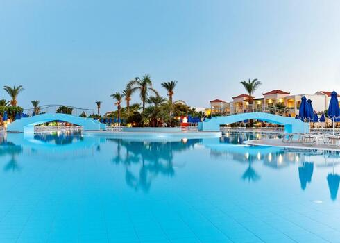 Rodosz, Lardos: Hotel Lindos Princess Beach 4*, all inclusive