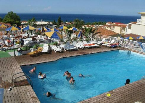 Zakintos, Argassi: Hotel Captain 3*+, all inclusive