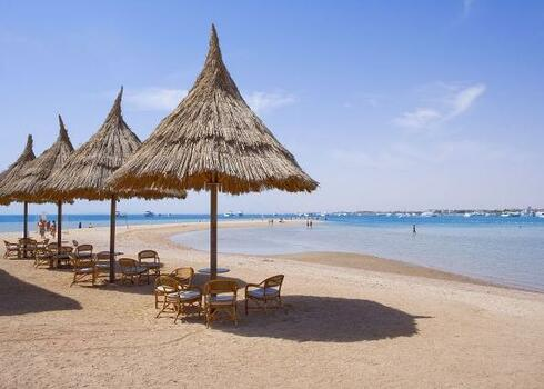 Egyiptom, Hurghada: Hotel Siva Grand Beach Red Sea 4*+, all inclusive