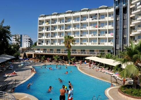 T�r�korsz�g, Alanya: Asrin Beach Hotel 4*, all inclusive