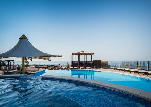Bulgária, Nessebar: Hotel & Appartements Caesar Palace Beach 4*, all inclusive