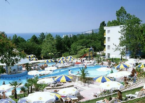 Bulgária, Albena: Hotel Orchidea 3*, all inclusive