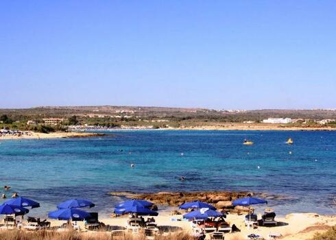 Ciprus, Ayia Napa: Hotel Asterias Beach 4*, all inclusive