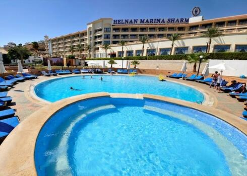 Kairó - Sharm El Sheikh: Helnan Marina Sharm 4*, all inclusive