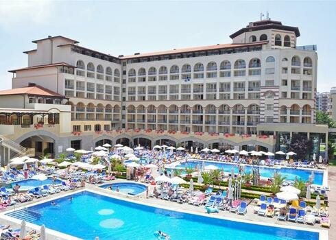 Bulgária, Napospart: Hotel Iberostar Sunny Beach Resort 4*, all inclusive