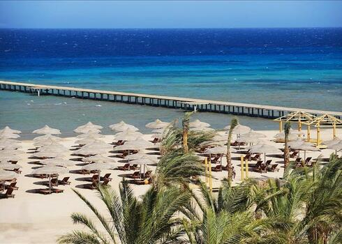 TOP TIPP! Egyiptom, Hurghada: Amwaj Blue Beach 5*, all inclusive