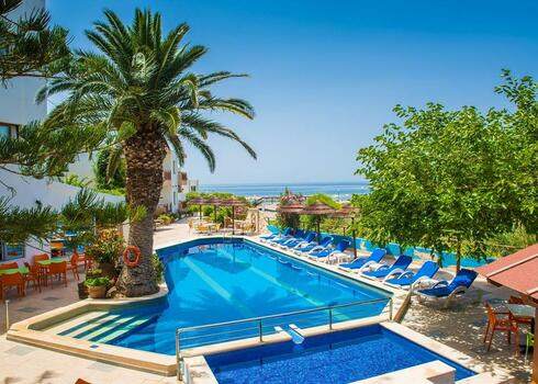 Kréta, Koutsouras: Aparthotel South Coast, all inclusive