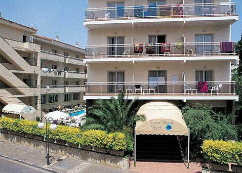 Costa Brava, Tossa de Mar: Hotel Tossa Beach / Tossa Center 4*, all inclusive