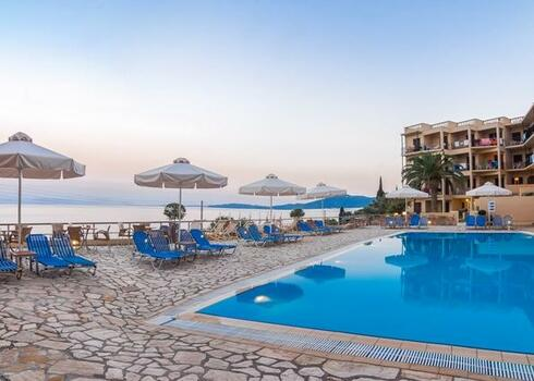TOP TIPP! Korfu, Benices: Hotel Belvedere 3*, all inclusive