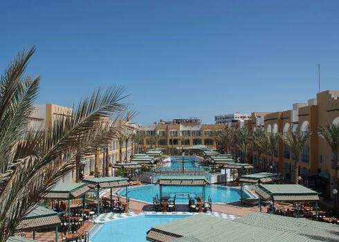 Egyiptom, Hurghada: Bel Air Azur Resort 4*, all inclusive