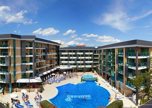 Bulgária, Napospart: Hotel Diamond 4*, all inclusive