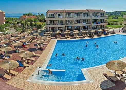 Korfu, Astrakeri: Hotel Angela Beach 3*, all inclusive
